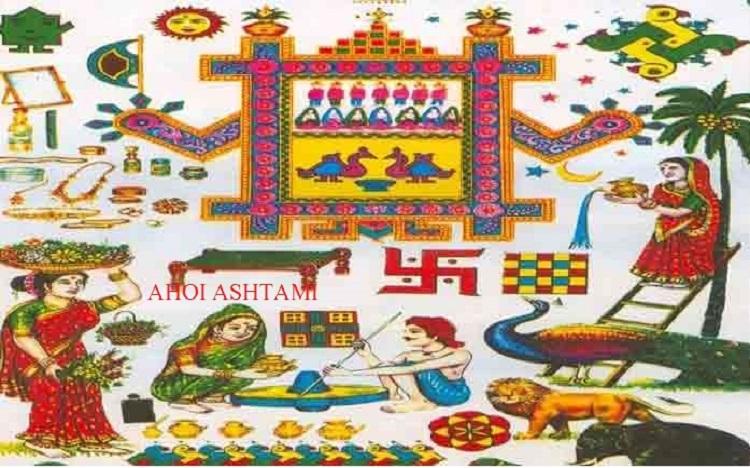 Ahoi Ashtami Vrat Katha