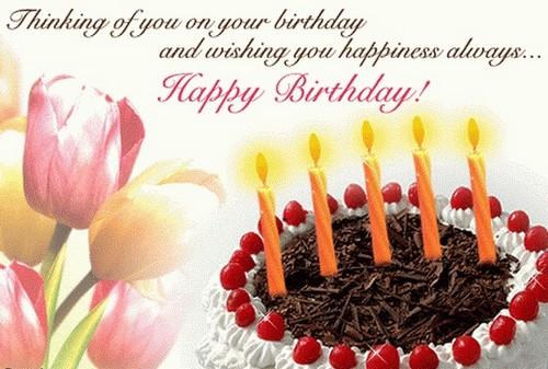 Birthday wishes new